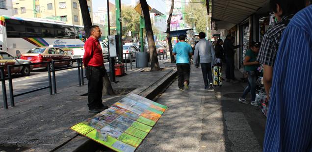 DE CHOPIN: Mapa de mercado ambulante